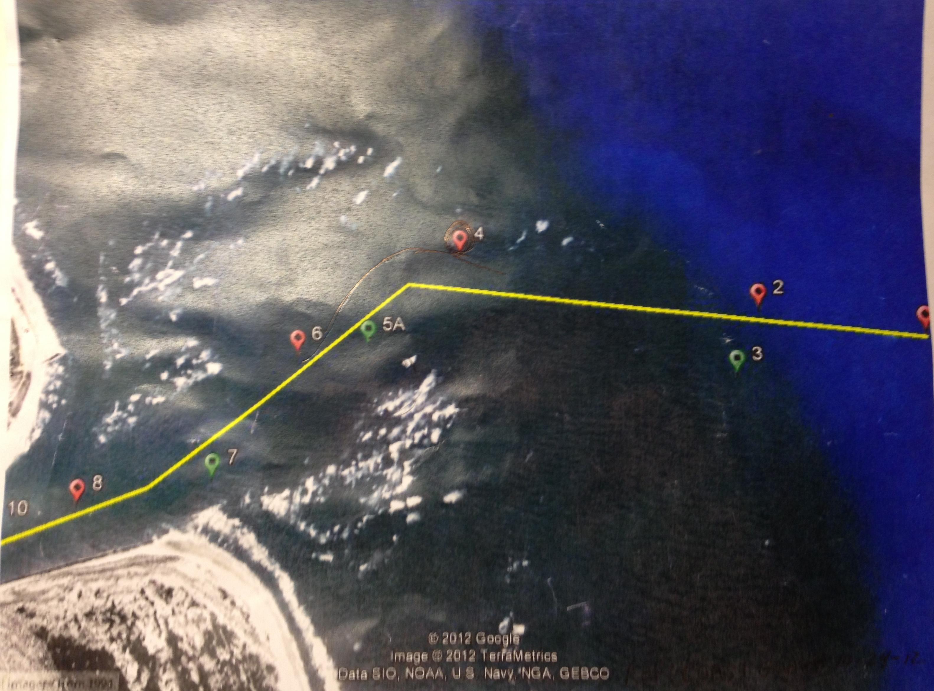 st augustine inlet satellite