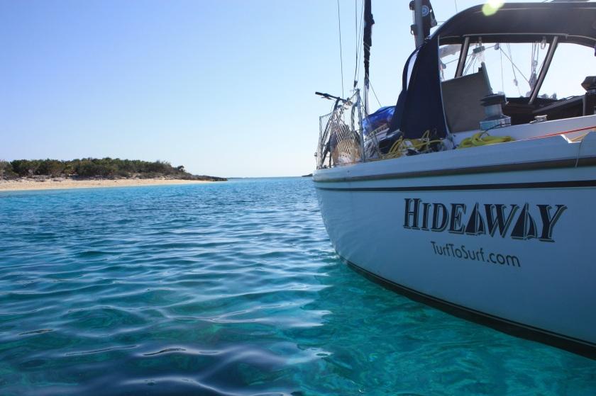 hideaway sailing turftosurf